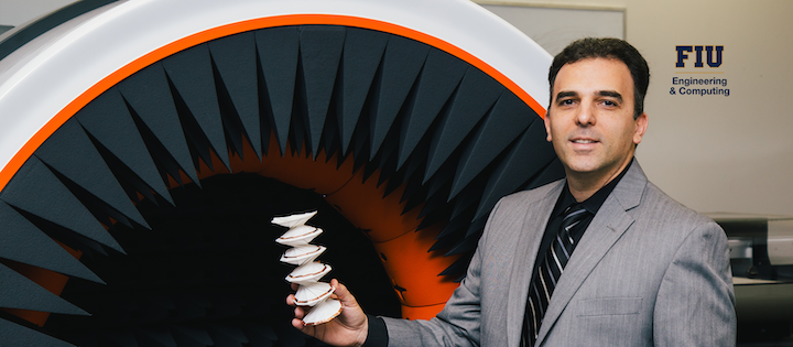 FIU's Stavros Georgakopoulos, TAC director and professor in the College of Engineering & Computing's Department of Electrical & Computer Engineering.