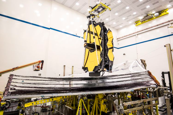 james Webb space telescope withstands launch stresses | Intelligent  Aerospace